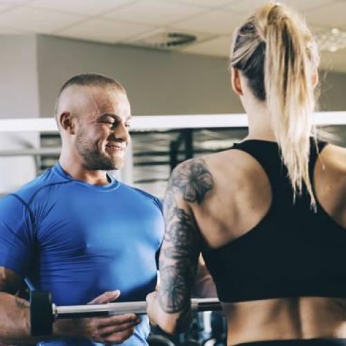 Abnehmen versus Muskeln